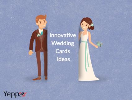 innovative wedding card ideas with yeppar augmented reality wedding cards - Wedding Card Ideas