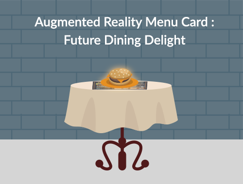 Augmented Reality menu card