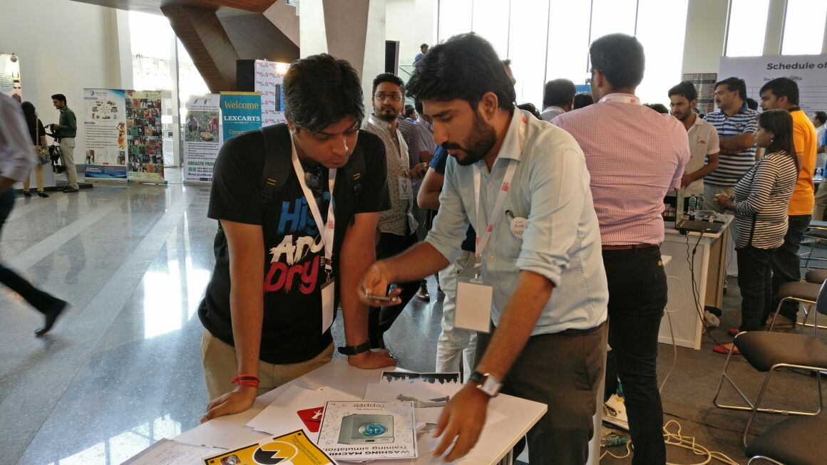 Yeppar Augmented Reality, at Rajasthan Startup Fest -2016