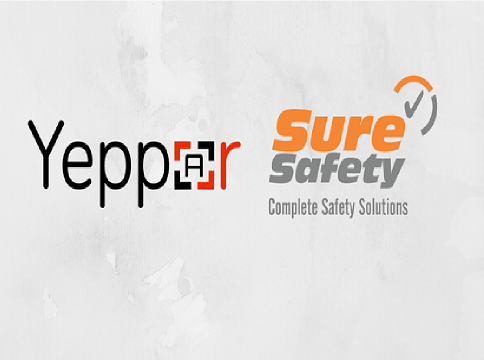 Yeppar Sure Safety Augmented Reality Safety Magazine collaboration