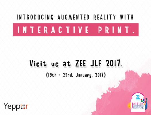 Yeppar associated with ZEE Jaipur Literature Festival, 2017: where literature meets technology