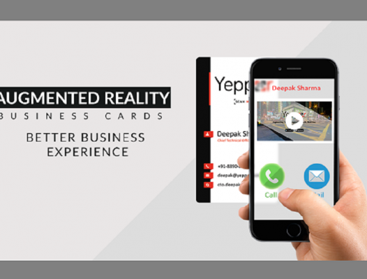 Augmented Reality Business cards: Better Business Experience