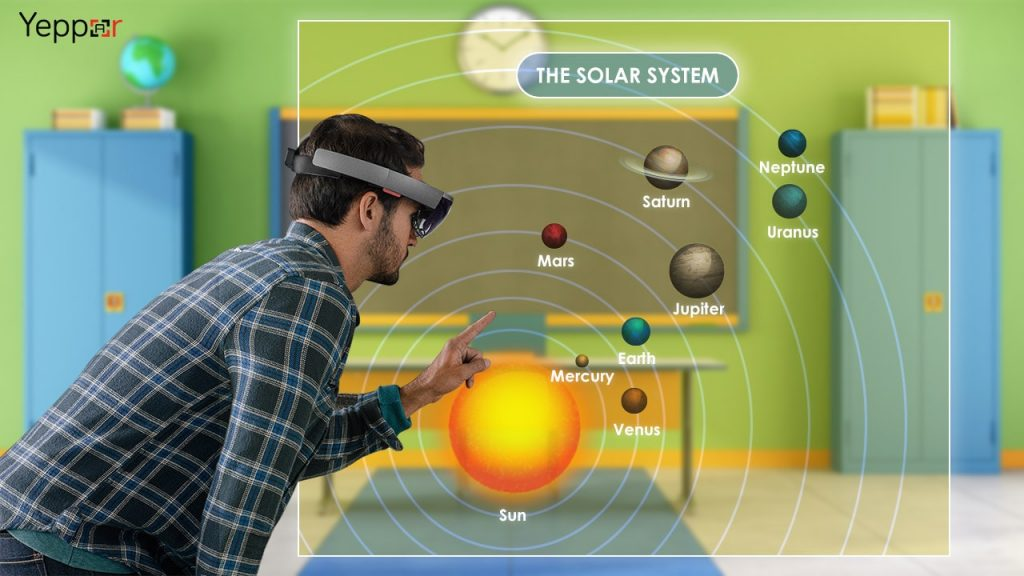 microsoft hololens education