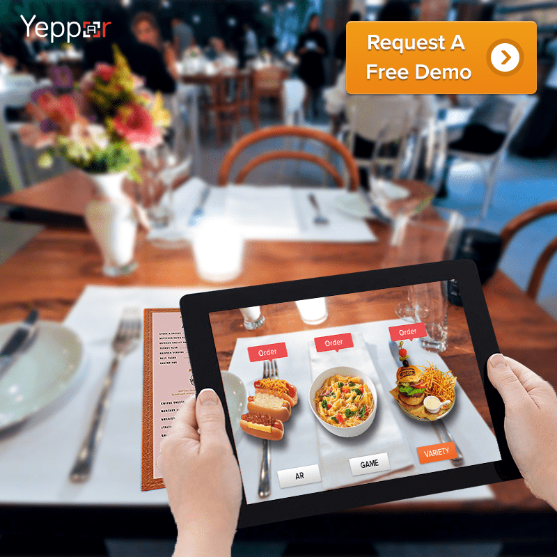 augmented reality for restaurant