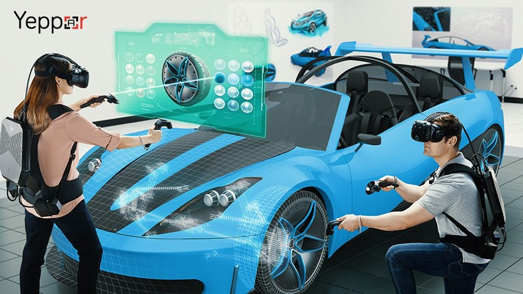 Virtual reality Technology in Automotive