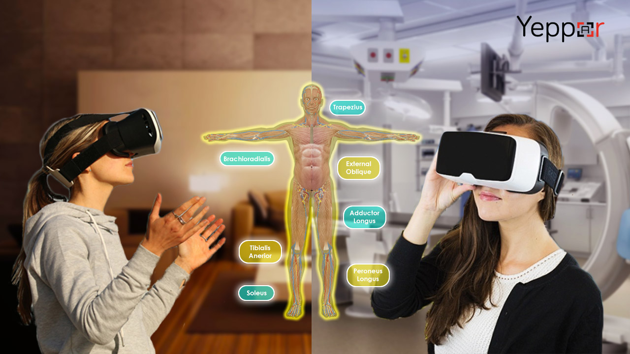 virtual reality use cases of association