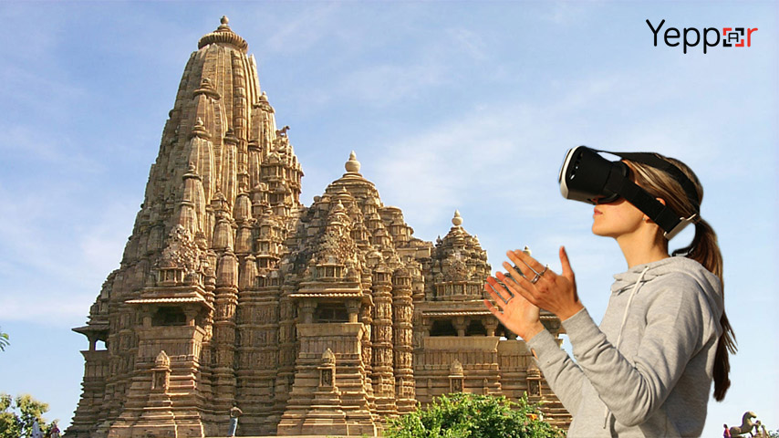 Virtual Reality for tourism