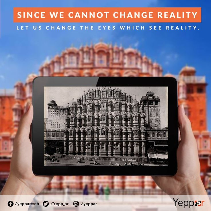 augmented reality tourism application