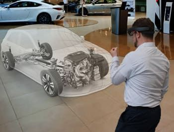 Mixed Reality modeling