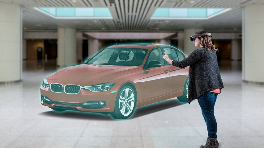 Mixed Reality Automobiles