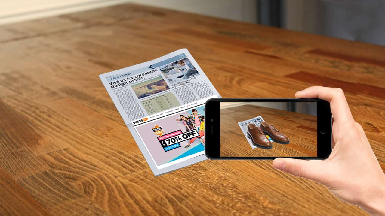 augmented reality printing