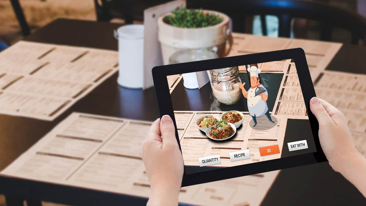 augmented reality in restaurants